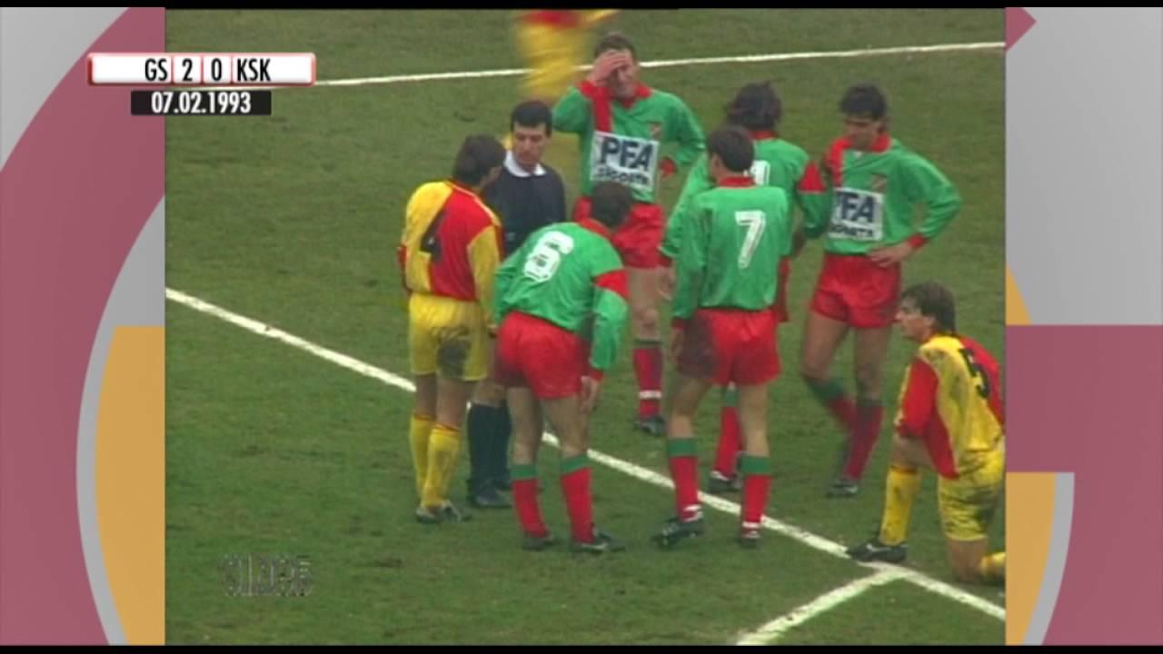 Nostalji Maçlar | 1992-1993 Sezonu Galatasaray 4 - 1 Karşıyaka ...
