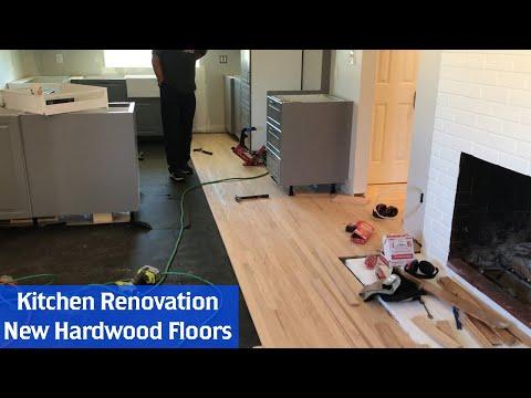 Building a New Kitchen Part 6: New Hardwood Floors