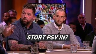 """Theo Janssen en Anco Jansen met elkaar eens: """"PSV na de winter minder goed"""""""