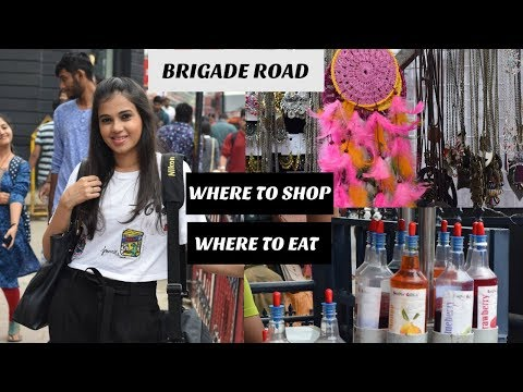 SHOPPING AT BRIGADE ROAD I STREET SHOPPING HAUL I TRY ON I TIBET MALL I LIV IT UP WITH MILONI