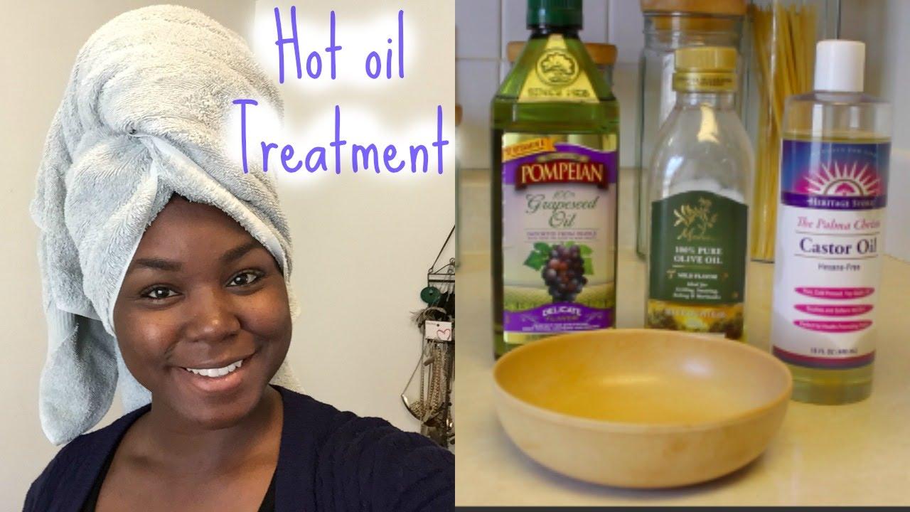hot oil treatment relaxed hair