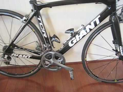 Continental Bike Tires >> 2010 GIANT TCR ADVANCED 2.mov - YouTube