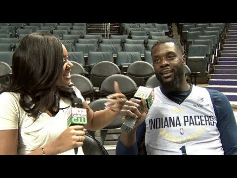 Courtside with Ashley Holder: One-on-One w/ Lance Stephenson