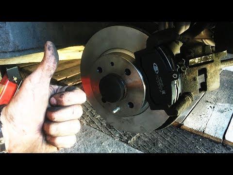 Замена тормозных дисков, колодок ваз 2110, Последствия проточки тормозных дисков