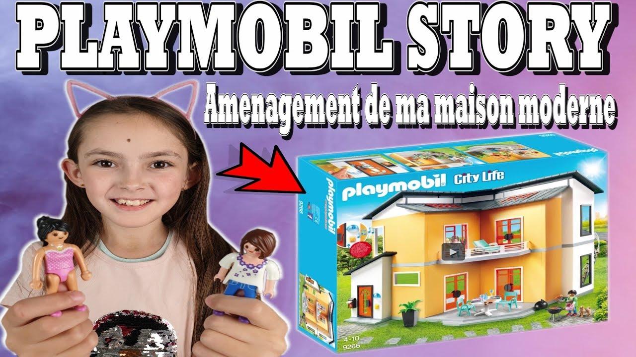 PLAYMOBIL STORY : Amenagement de ma maison moderne (HISTOIRE) 8