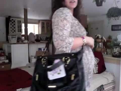 Timi Leslie Pre Baby Diaper Bag Review