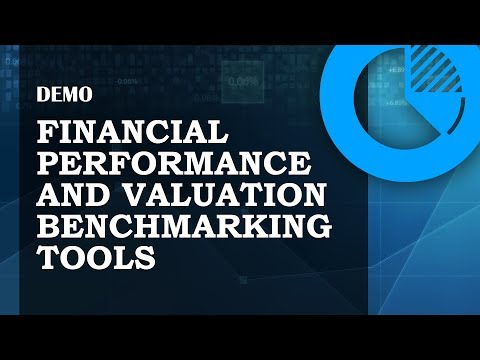 Demo of the Financial Performance and Valuation Benchmarking Tools