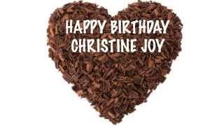 ChristineJoy   Chocolate - Happy Birthday