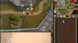 Runescape F2P PKING: FATAL DIGITS--(LOST FOOTAGE PT 1) g2h pking, r scim, r 2h