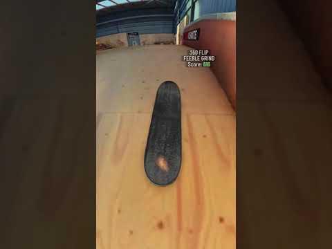 True Skate - 360 flip bs feeble