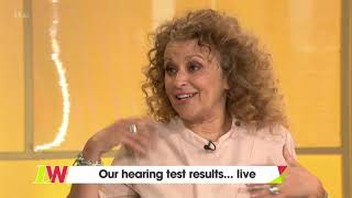 Jane's Hearing Test Results | Loose Women