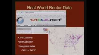2007-11-14 CERIAS - Wireless Router Insecurity: The Next Crimeware Epidemic