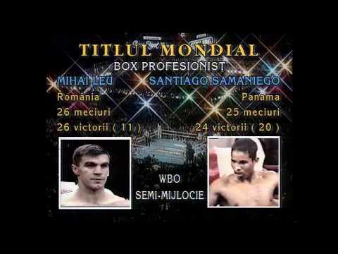 Mihai Leu, meciurile pentru titlul mondial WBO