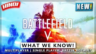 🔥BATTLEFIELD 5 TRAILER😍 DETAILS | WHAT WE KNOW! DETAILS IN HINDI | NOOBTHEDUDE