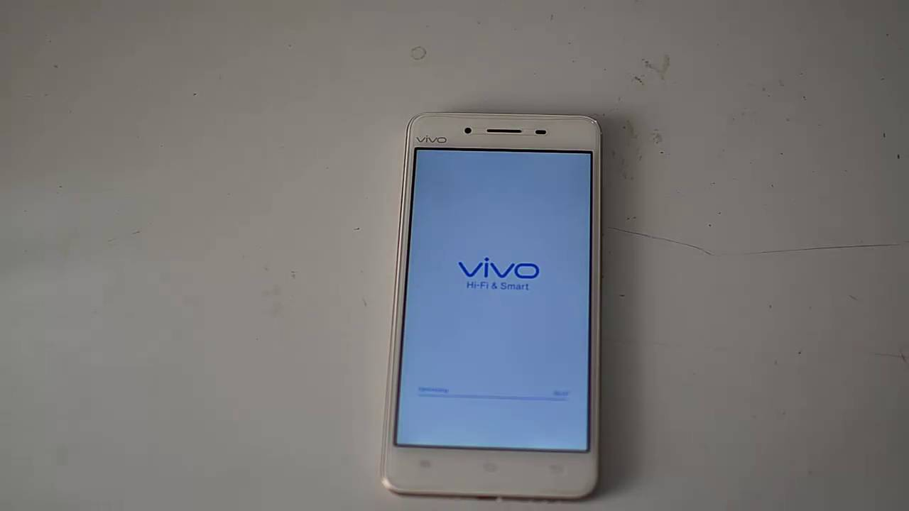 Reset Vivo V3 To Factory Settings Youtube