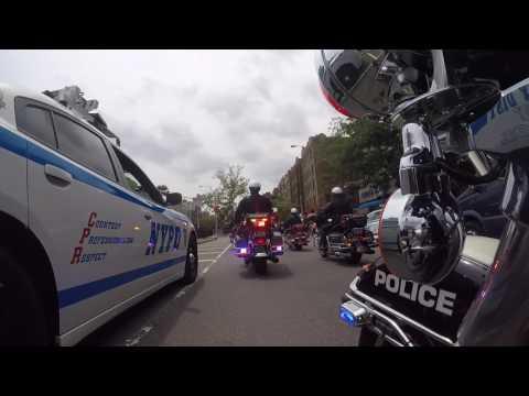 NYPD Miosotis Familia Funeral Procession