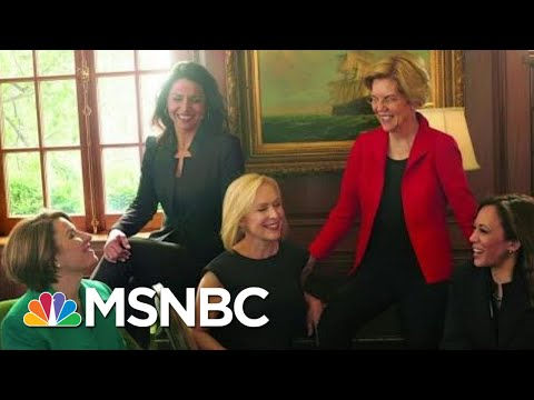 Elizabeth Warren's Drop Sparks Demand For 'A Woman Running Mate' | The Beat With Ari Melber | MSNBC