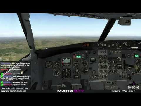 Shared Dickpit on FlyJSim Boeing 737-200   EDDV-EDDF