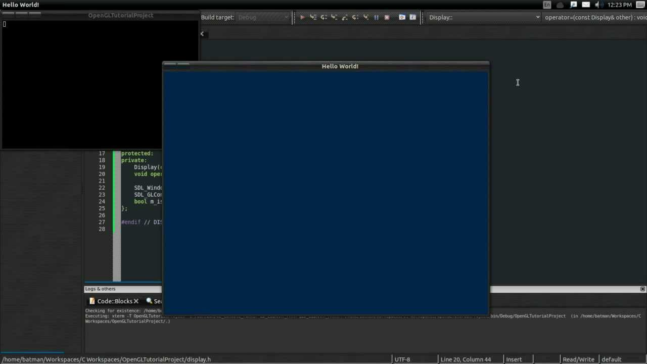 #2 Intro to Modern OpenGL Tutorial: OpenGL Windows by thebennybox