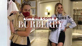 VLOG: Visita ao showroom da BURBERRY em Goiânia! | Layla Monteiro