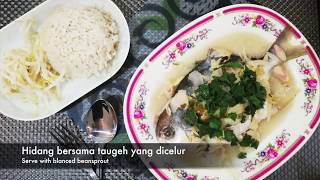 Resepi 6: Ikan Bawal Emas Stim | 21 Resepi Diet Kurus