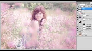 Photoshop CS5: How to add a Soft Dreamy Glow effect to pictures (Emily Soto Inspired)
