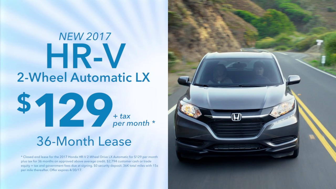 Honda Of Thousand Oaks   April U002717 Specials On Civic, HR V U0026 Accord