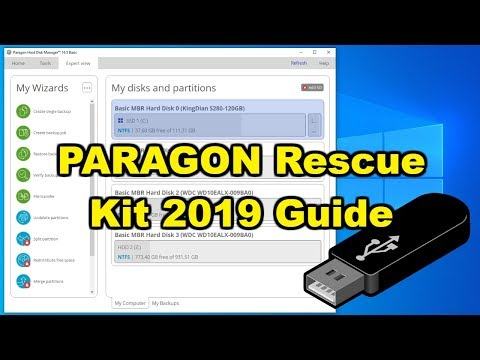 Paragon Rescue Kit Install Guide And How To Create A