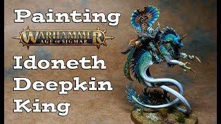 Painting Age of Sigmar Idoneth Deepkin King Volturnos
