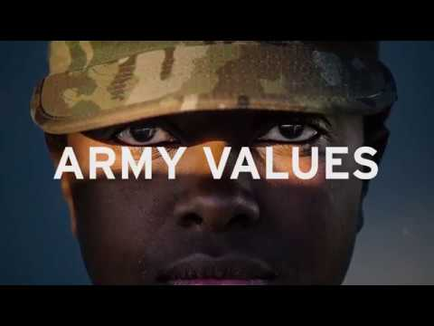The Seven Core Army Values are what being a U.S. Army Reserve Soldier is all about. How do you live these values on and off the field?