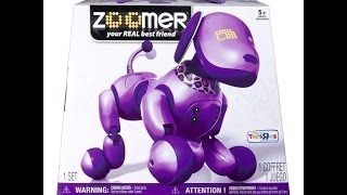 Zoomer Interactive Dog Purple Exclusive! - Kidtoytesters