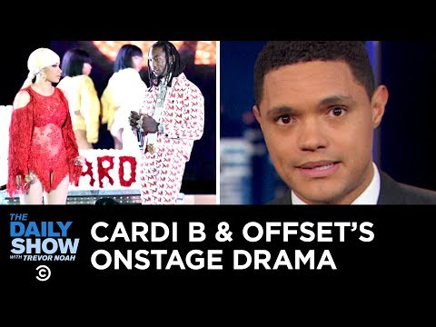 Pradas Blackface Controversy & An Awkward Moment for Cardi B | The Daily Show