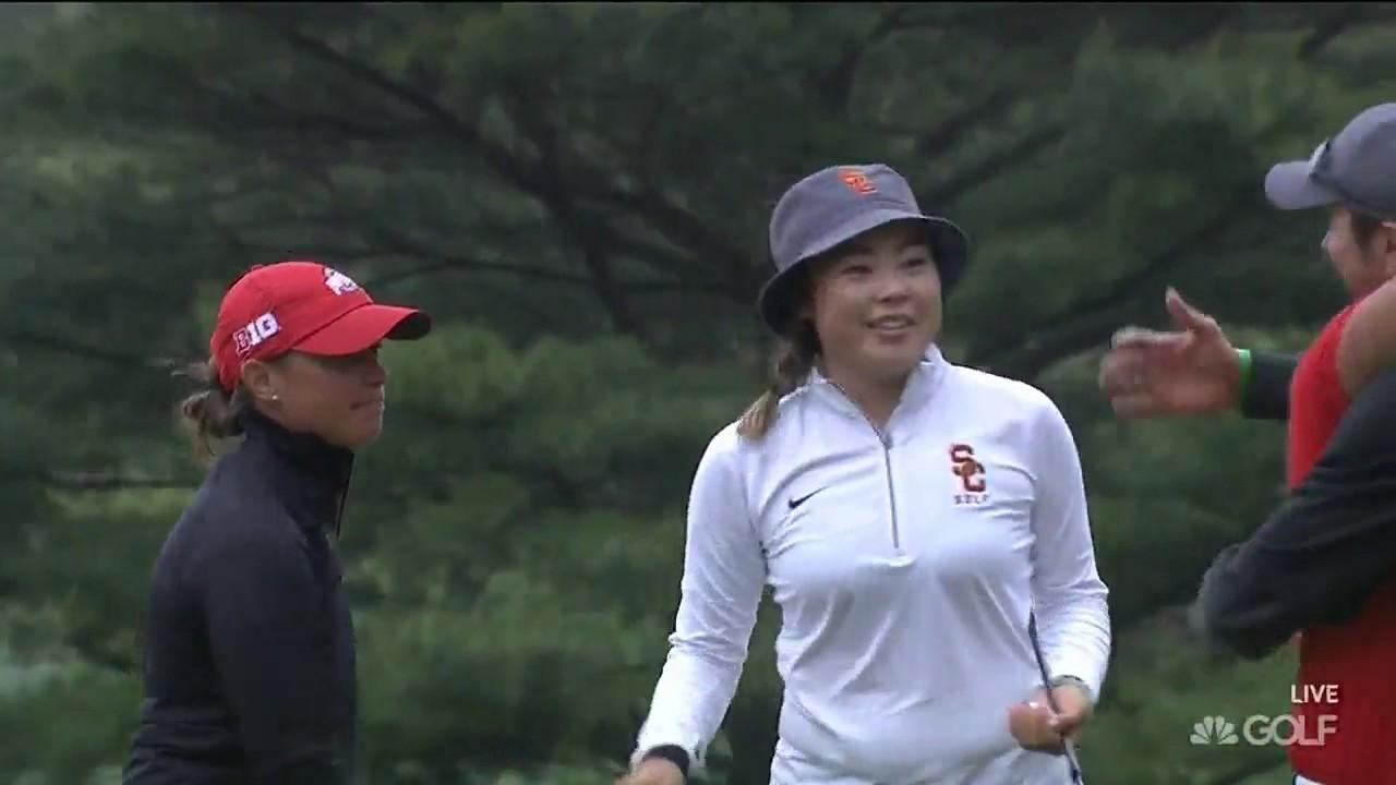 859f9b415e2 NCAA Women s Golf  USC Beats Ohio State - YouTube