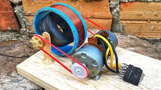 Permanent Magnet Free Energy Self Running Generator Using DC Motor New Science Technology 2020