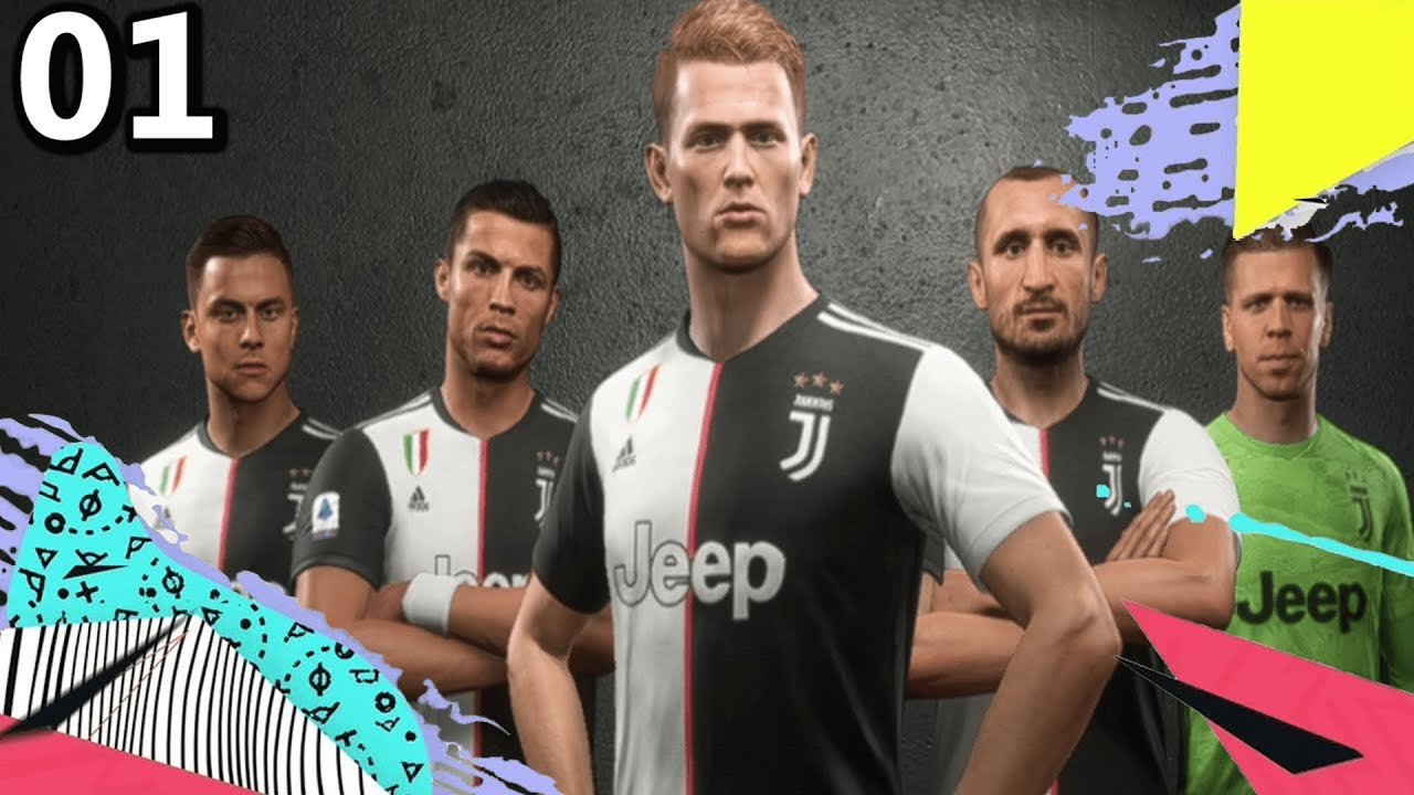 Juventus Is Back Fifa 20 Juventus Career Mode S1ep1 Youtube