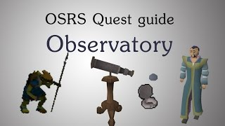 [OSRS] Observatory quest guide