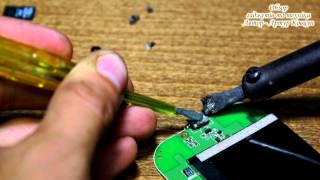 Жөндеу, зарядтау ұясының microUSB смартфонда Gigabyte Gsmart G1345