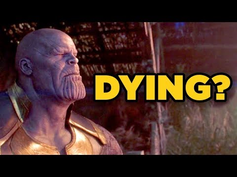 Avengers Infinity War - IS THANOS DYING? (Stormbreaker Wound Explained!)