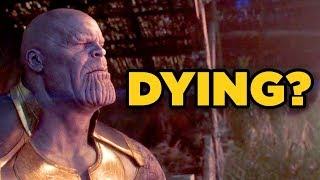 Avengers Infinity War - IS THANOS DYING Stormbreaker Wound Explained