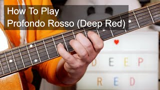 'Profondo Rosso (Deep Red)'  Goblin Guitar Lesson