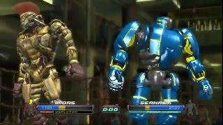 Живая сталь часть 2-Майдас уничтожает роботов(Real steel-Равный соперник)