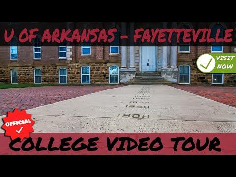 University Of Arkansas - Fayetteville Campus Tour