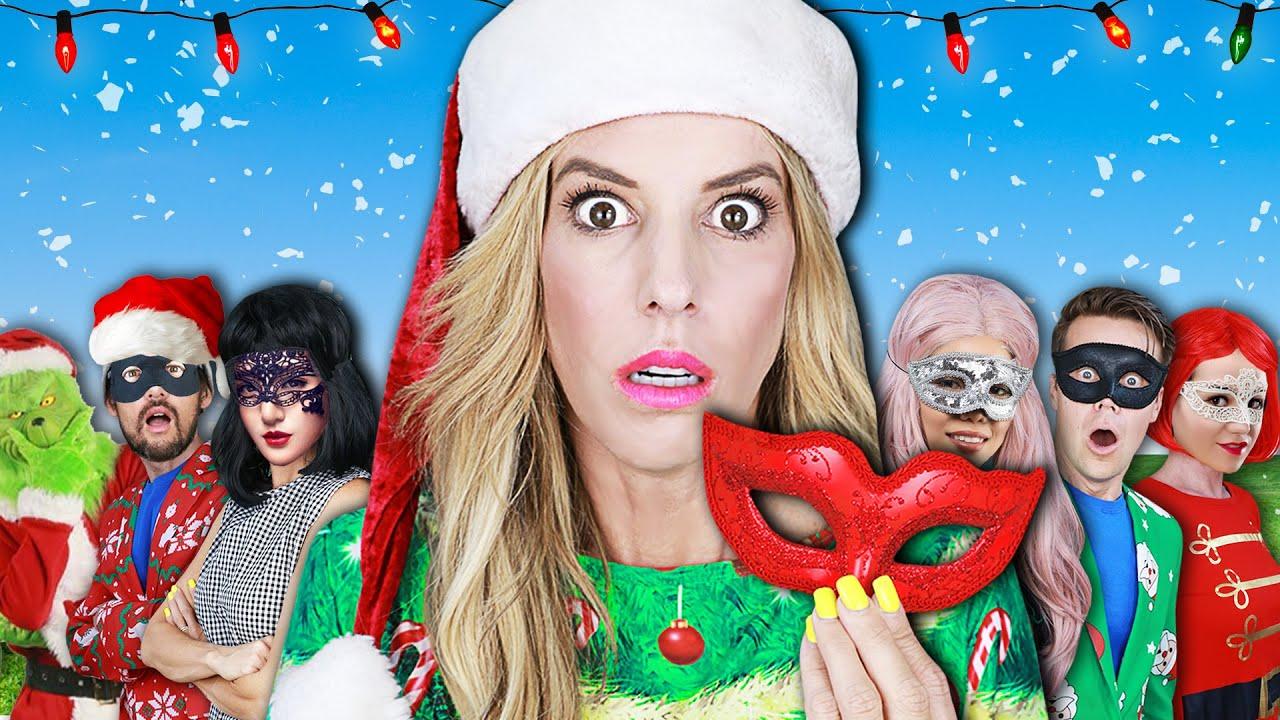 GIANT CHRISTMAS in SUMMER MASQUERADE BALL - Rebecca Zamolo