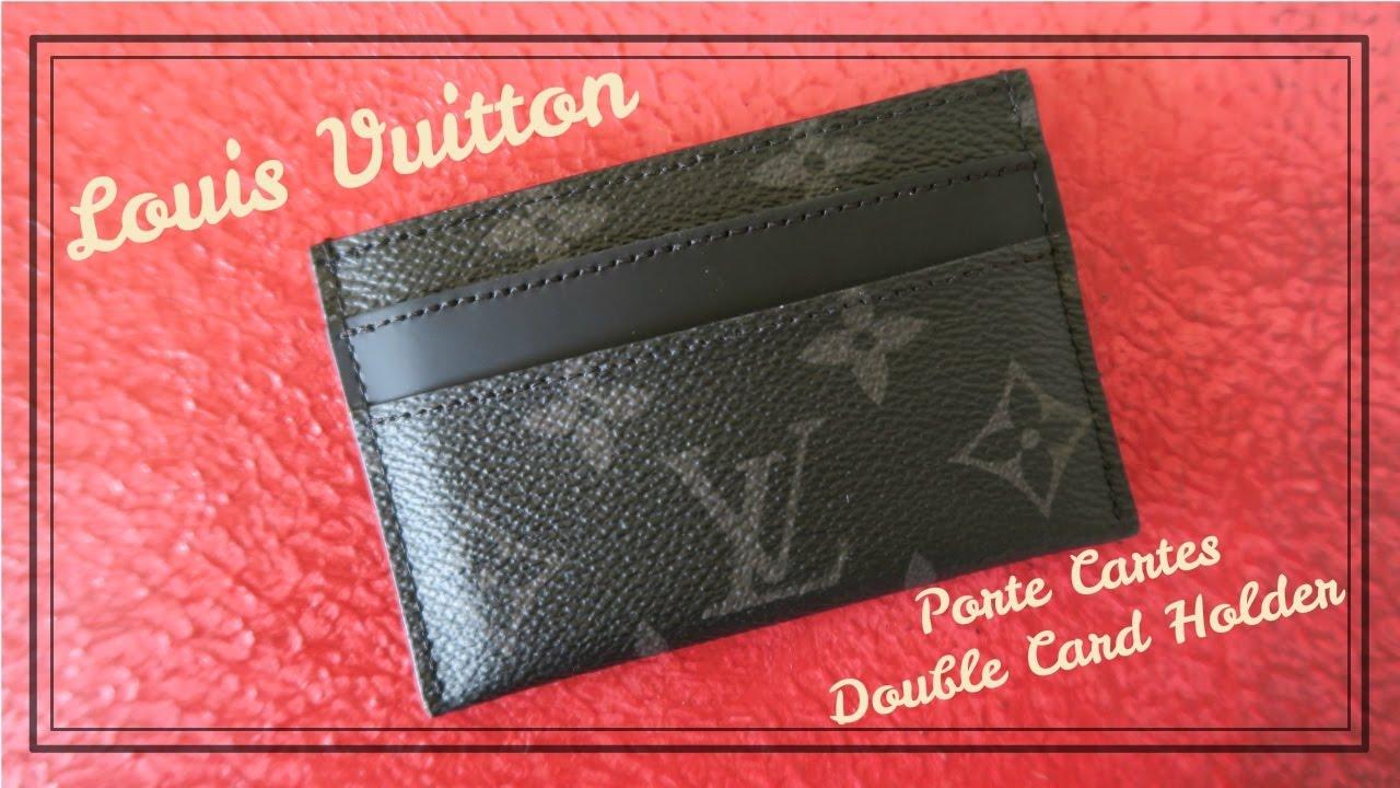 Louis vuitton porte cartes cardholder review red ruby - Supreme louis vuitton porta carte ...