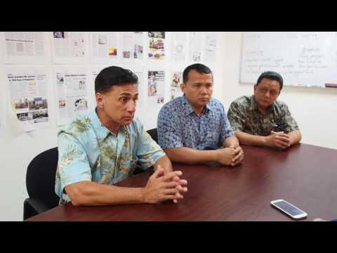 Interview with defamation plaintiffs