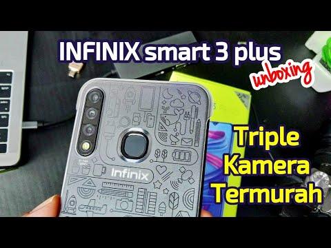 Triple Kamera Termurah Infinix Smart 3 Plus Unboxing Youtube