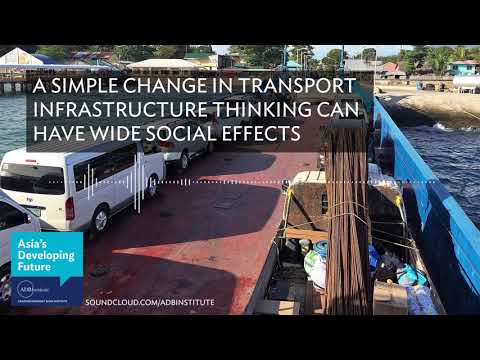 A simple change in transport infrastructure thinking can have wide social effects