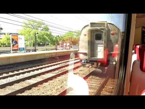 Stamford to Grand Central train ride, Metro-North New Haven Line