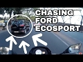 Bangalore Roads - 12 | Chasing Ford Ecosport | Speedbreakers | Wrong Gear | Crowded Streets