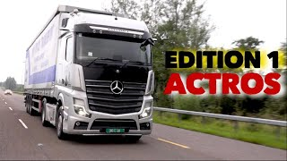 Mercedes Actros 1853 Edition 1 Full Tour & Test Drive Mirror Cam Rain Test